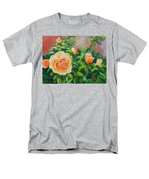 Yellow Roses Men's T-Shirt  (Regular Fit) by William Reed