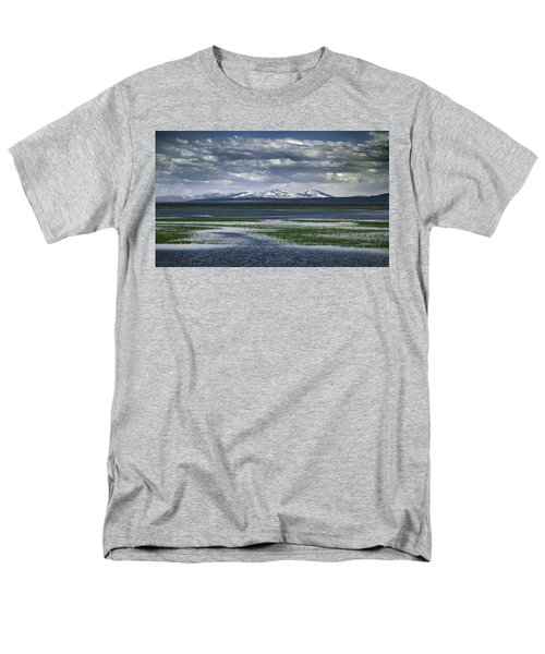 Yellowstone Mountain Scape Men's T-Shirt  (Regular Fit) by Jason Moynihan