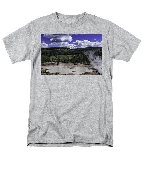 Men's T-Shirt  (Regular Fit) featuring the photograph Yellowstone Tar Pits by Jason Moynihan