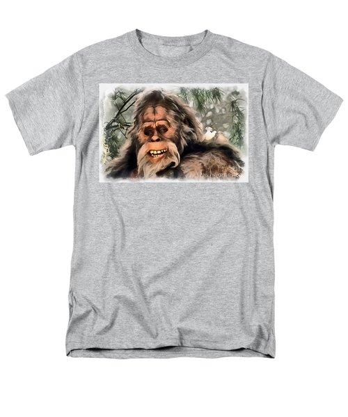 Yeti Men's T-Shirt  (Regular Fit) by Sergey Lukashin