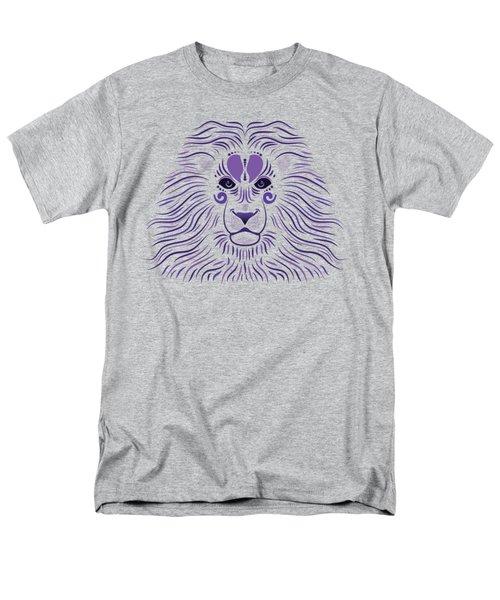 Yoni The Lion - Dark Men's T-Shirt  (Regular Fit) by Serena King