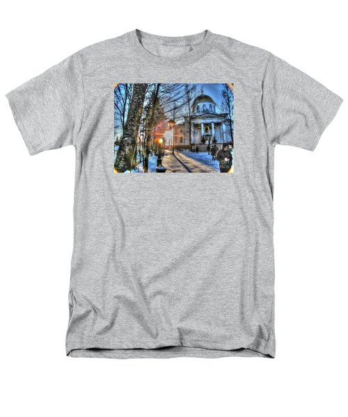 Yury Bashkin Churches, Russia Men's T-Shirt  (Regular Fit) by Yury Bashkin