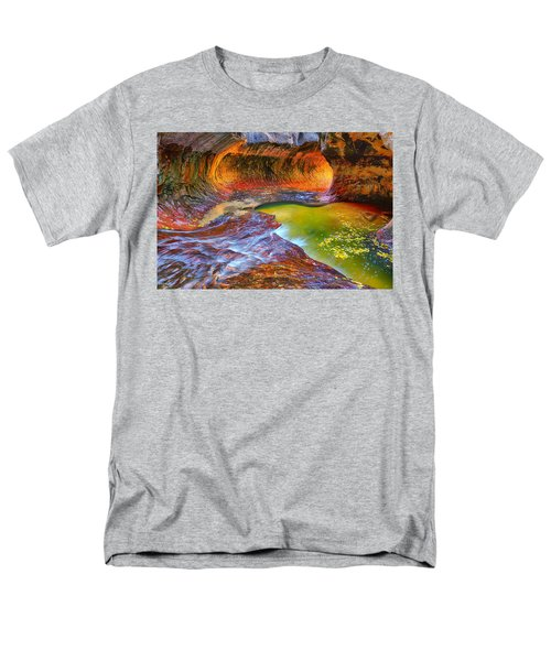 Men's T-Shirt  (Regular Fit) featuring the photograph Zion Subway by Greg Norrell