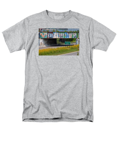 Men's T-Shirt  (Regular Fit) featuring the photograph Zoo Mural by Michiale Schneider
