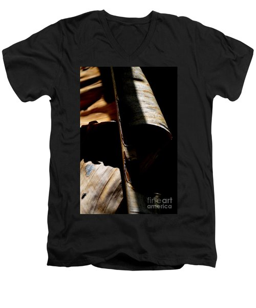 A Little Light In The Darkness Men's V-Neck T-Shirt