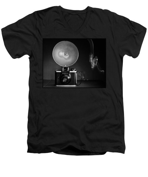 Ansco Camera Men's V-Neck T-Shirt