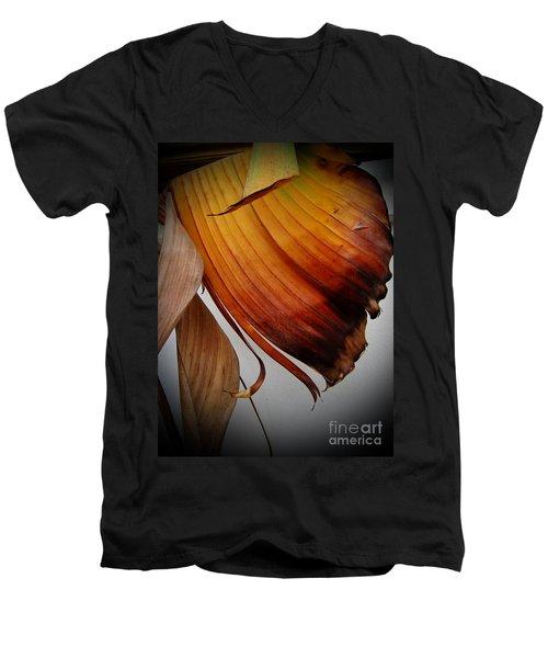 Dried Leaves Men's V-Neck T-Shirt
