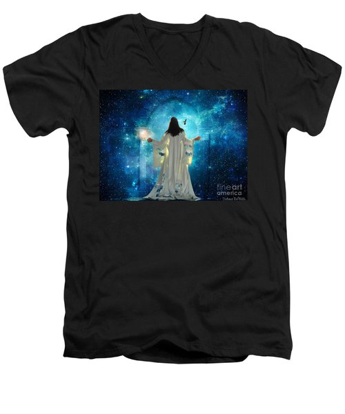 Heavens Door Men's V-Neck T-Shirt