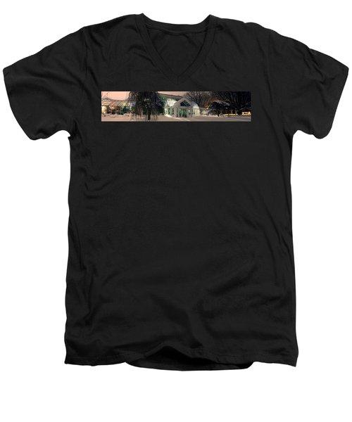 Lamberton Conservatory Men's V-Neck T-Shirt