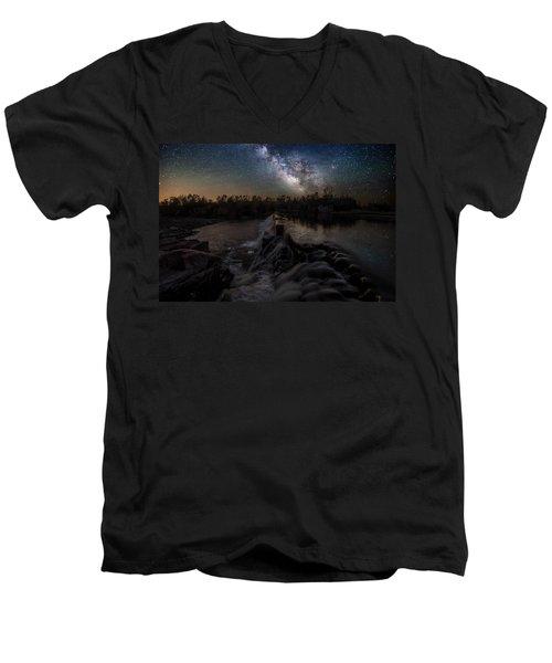 Split Rock Dreamscape Men's V-Neck T-Shirt