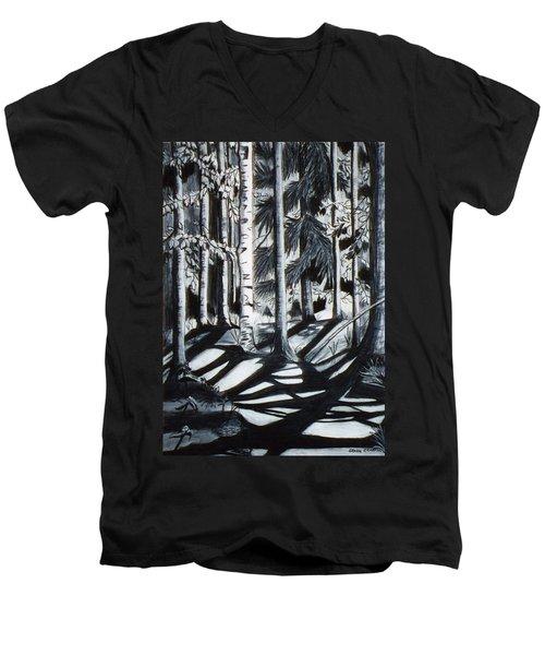 Take The Maine Path Men's V-Neck T-Shirt