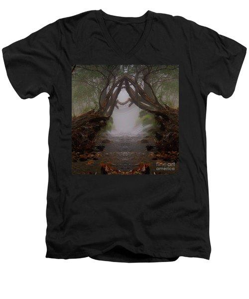 An Enchanted Place Men's V-Neck T-Shirt