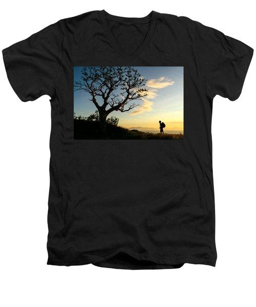 Approaching Summit Men's V-Neck T-Shirt