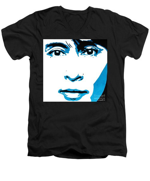 Aung San Suu Kyi. Men's V-Neck T-Shirt