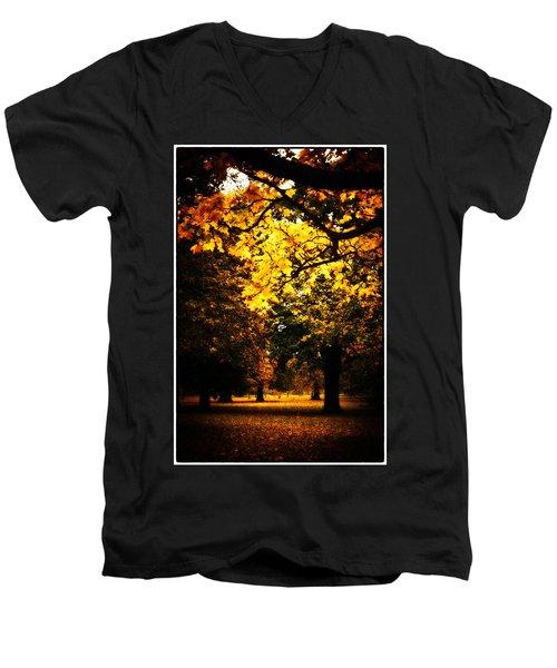 Autumnal Walks Men's V-Neck T-Shirt