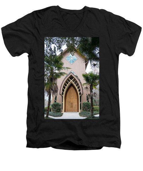 Baughman Center  Men's V-Neck T-Shirt