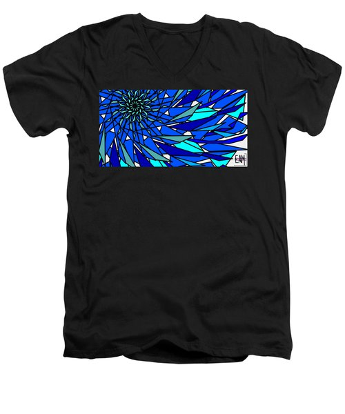 Blue Sun Men's V-Neck T-Shirt