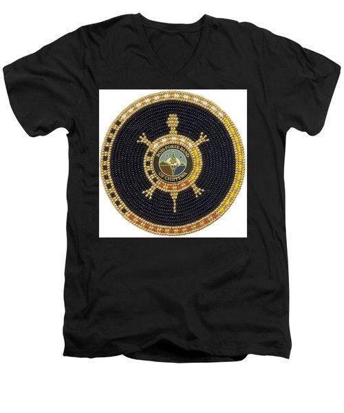 Bois Forte Band Men's V-Neck T-Shirt