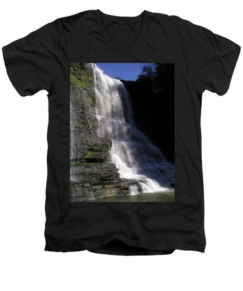 Burgess Falls Men's V-Neck T-Shirt