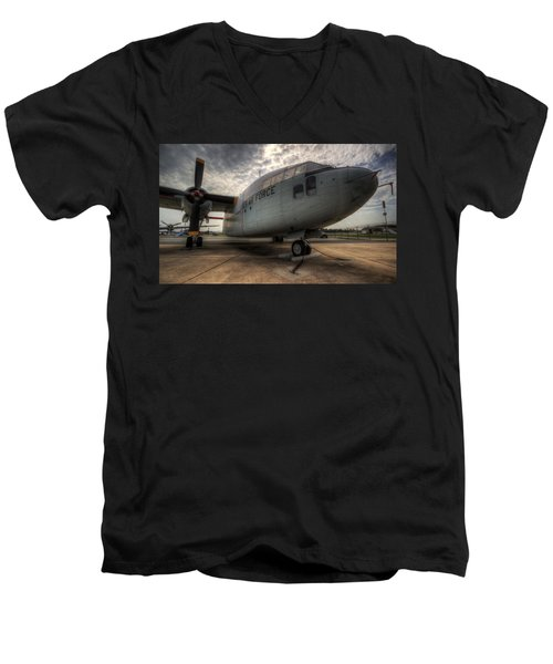 C-119 Flying Boxcar Men's V-Neck T-Shirt