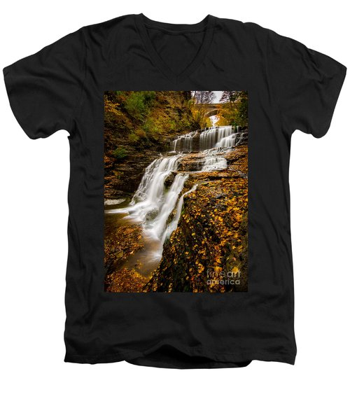 Cascadilla Gorge Men's V-Neck T-Shirt