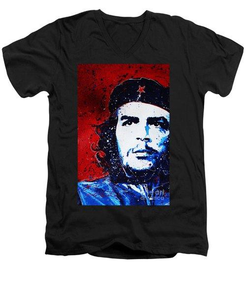 Che Men's V-Neck T-Shirt