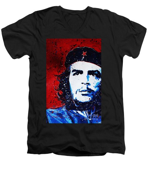 Che Men's V-Neck T-Shirt