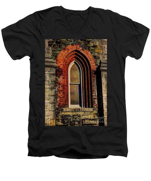 Churches On Church Street Men's V-Neck T-Shirt
