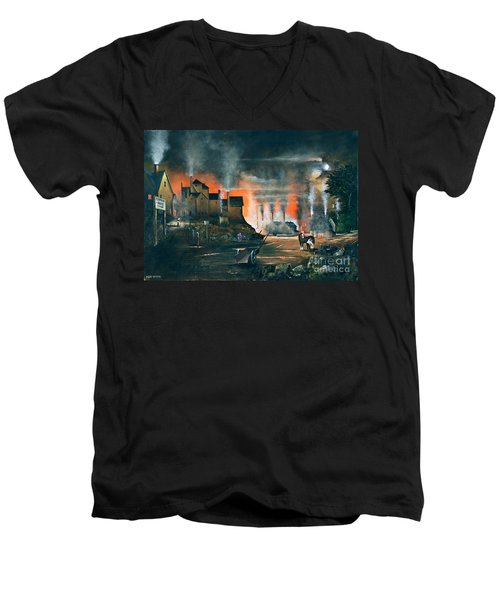 Coalbrookdale Men's V-Neck T-Shirt