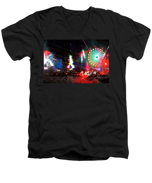 Coldplay - Sydney 2012 Men's V-Neck T-Shirt