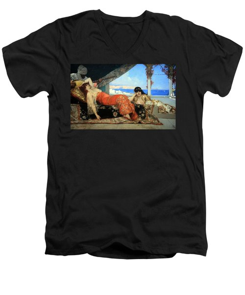 Constant's The Favorite Of The Emir Men's V-Neck T-Shirt by Cora Wandel