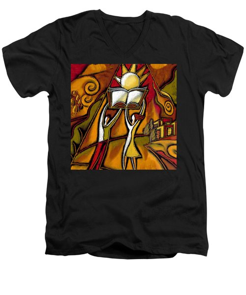 Education Men's V-Neck T-Shirt
