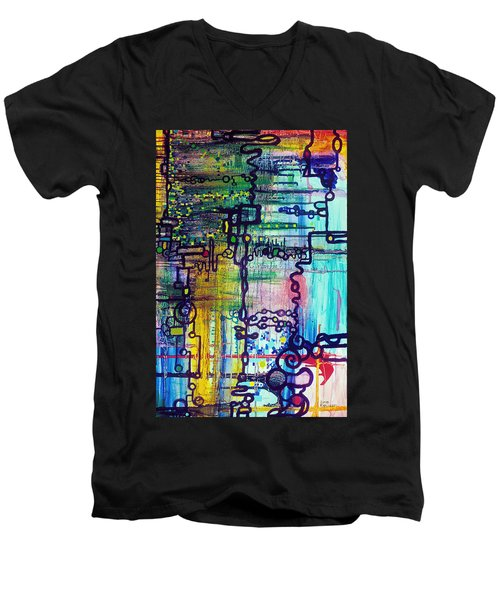 Emergent Order Men's V-Neck T-Shirt