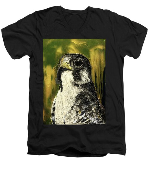 Falcon Men's V-Neck T-Shirt