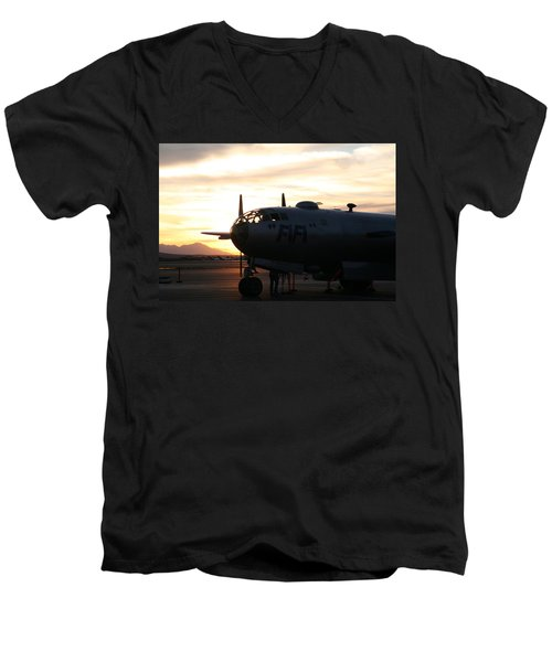 Men's V-Neck T-Shirt featuring the photograph Fi-fi by David S Reynolds