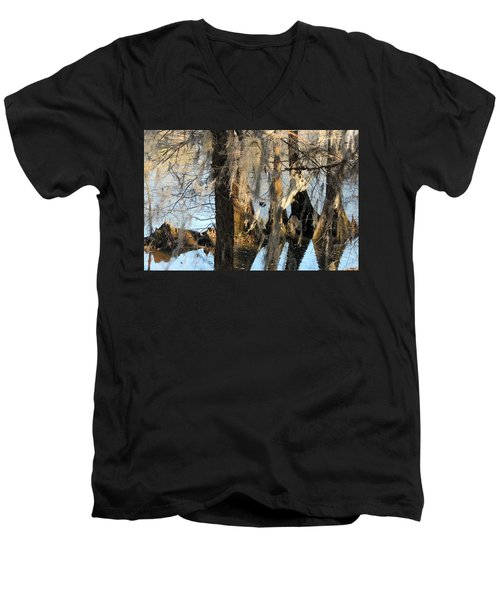 Flint River 36 Men's V-Neck T-Shirt
