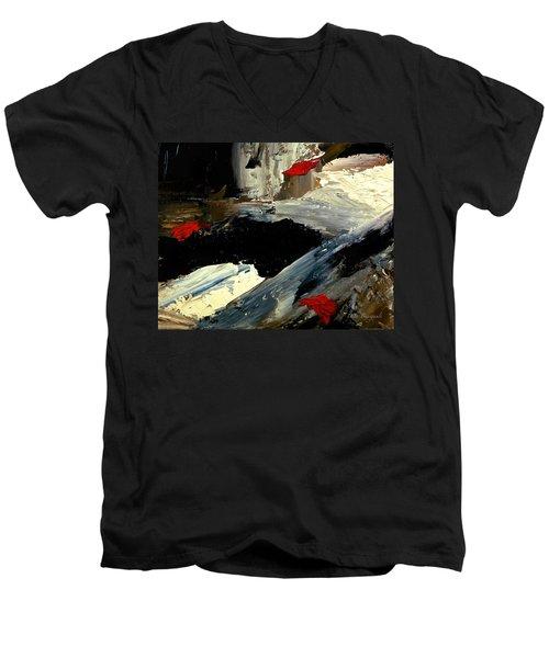 Flume Men's V-Neck T-Shirt