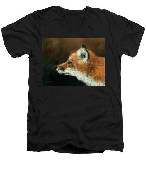 Fox Men's V-Neck T-Shirt