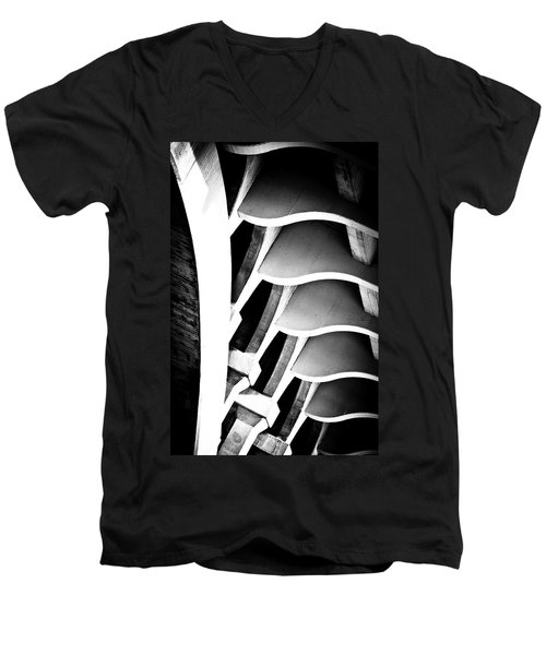 Fractal Ford Men's V-Neck T-Shirt