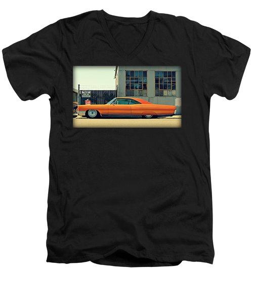 Gambino's Bonneville Men's V-Neck T-Shirt