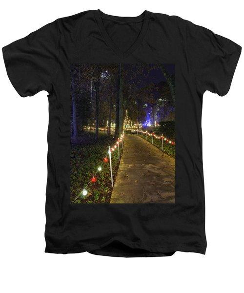 Long Path Men's V-Neck T-Shirt