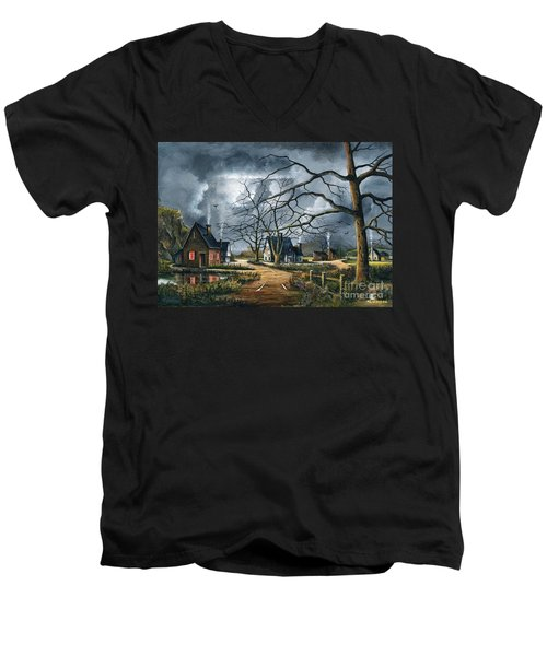 Gathering Storm Men's V-Neck T-Shirt