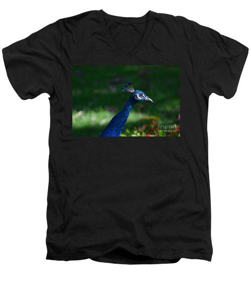 Head Shot Men's V-Neck T-Shirt