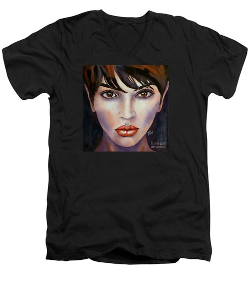 Heaven In Her Eyes Men's V-Neck T-Shirt