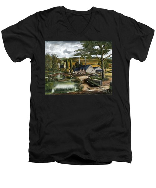 Home Farm Men's V-Neck T-Shirt