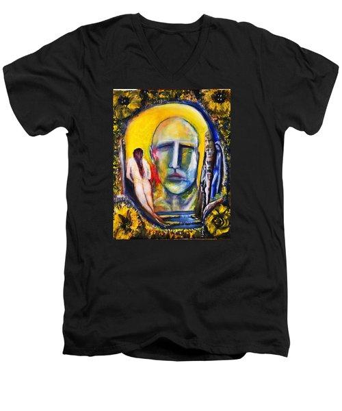 Inside The Garden  Men's V-Neck T-Shirt