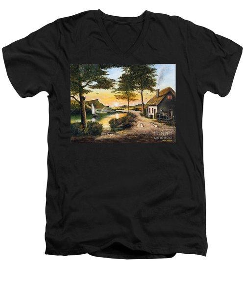 Irish Retreat Men's V-Neck T-Shirt