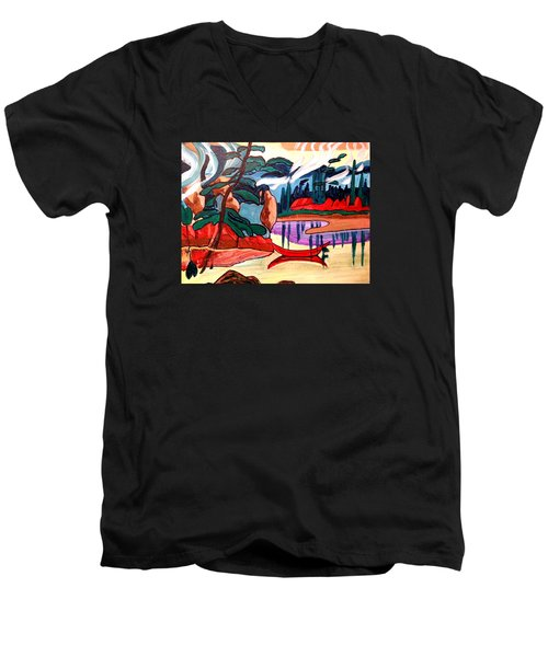 Island Fantasy Men's V-Neck T-Shirt