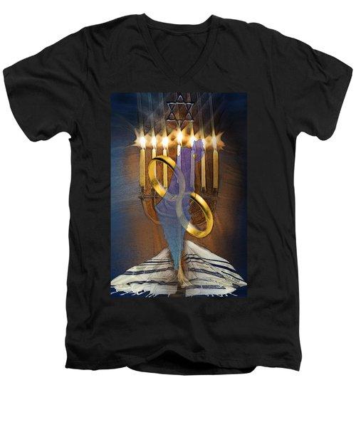 Israel Forever  Men's V-Neck T-Shirt