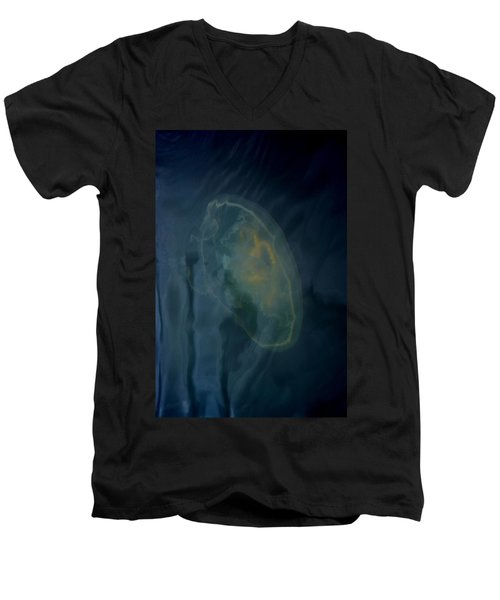 Jellyfish 1 Men's V-Neck T-Shirt